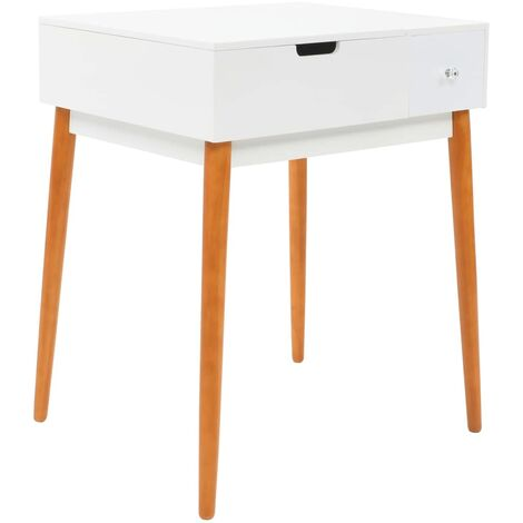 Hommoo Dressing Table with Mirror MDF 60x50x86 cm QAH11701