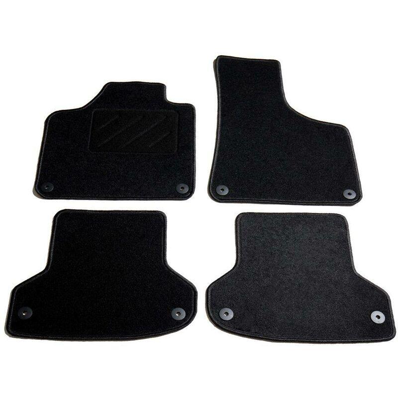 Ensemble de tapis de voiture 4 pcs pour Audi A3 HDV01822 - Hommoo