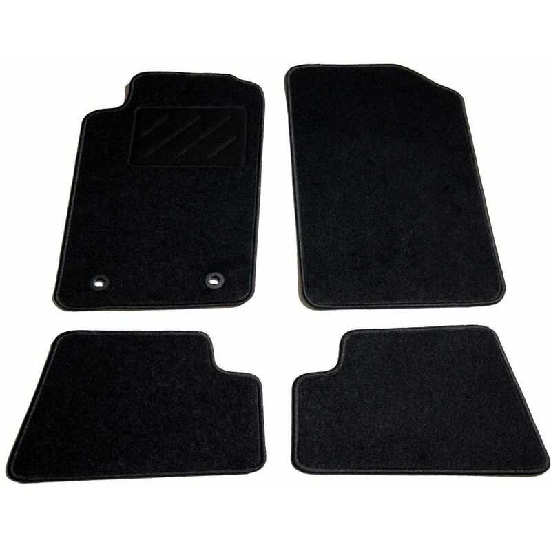 Ensemble de tapis de voiture 4 pcs pour Peugeot 206 CC HDV01879 - Hommoo