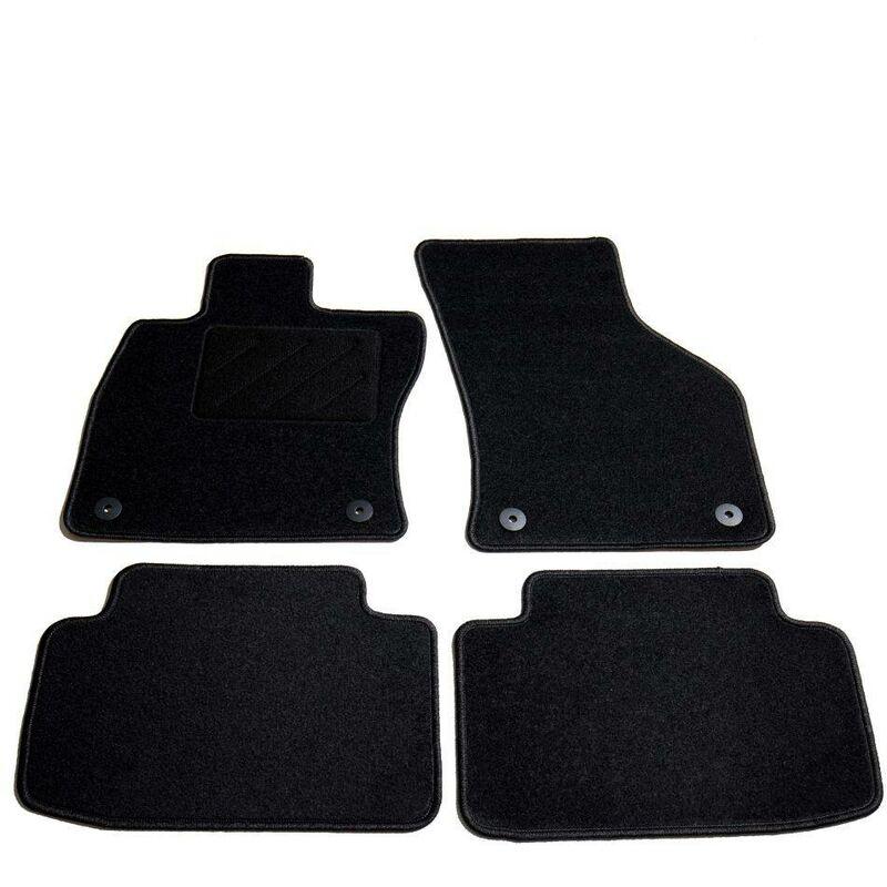 Ensemble de tapis de voiture 4 pcs pour Skoda Octavia III HDV01870 - Hommoo