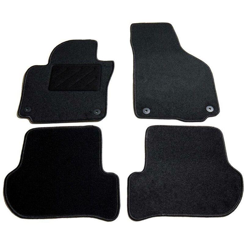 Ensemble de tapis de voiture 4 pcs pour Skoda Yeti HDV01871 - Hommoo