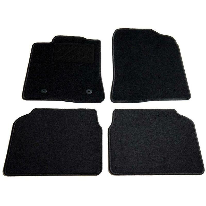 Ensemble de tapis de voiture 4 pcs pour Toyota Avensis HDV01875 - Hommoo