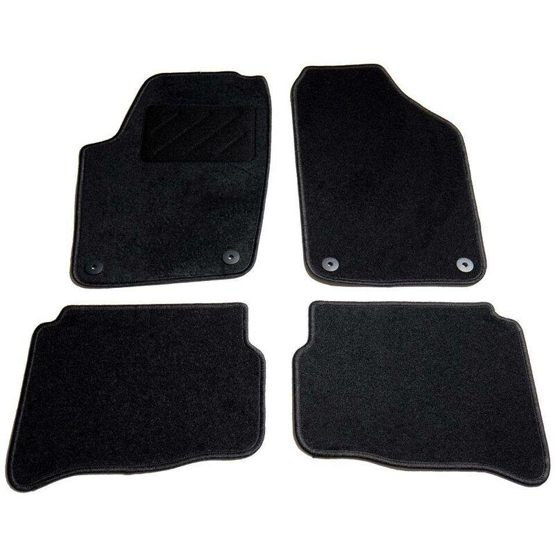 Ensemble de tapis de voiture 4 pcs pour VW Polo IV HDV01801 - Hommoo
