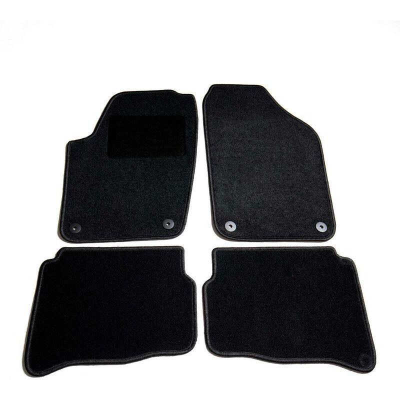 Ensemble de tapis de voiture 4 pcs pour VW Polo IV HDV01802 - Hommoo