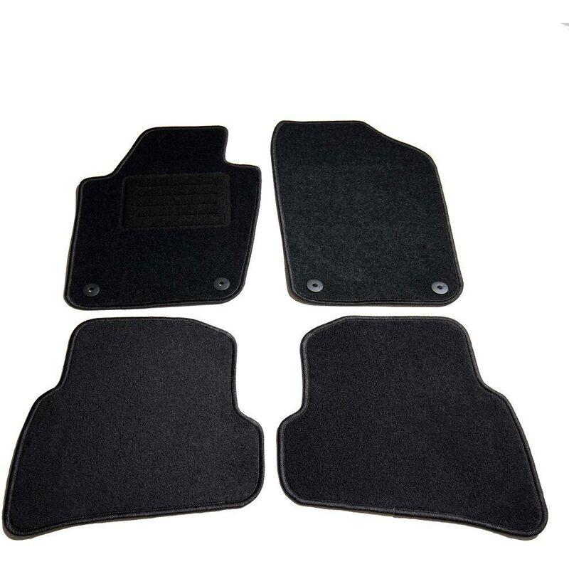 Ensemble de tapis de voiture 4 pcs pour VW Polo V HDV01803 - Hommoo