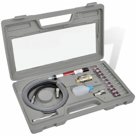 Hommoo Ensemble d'outils pneumatiques de presse à air HDV03656