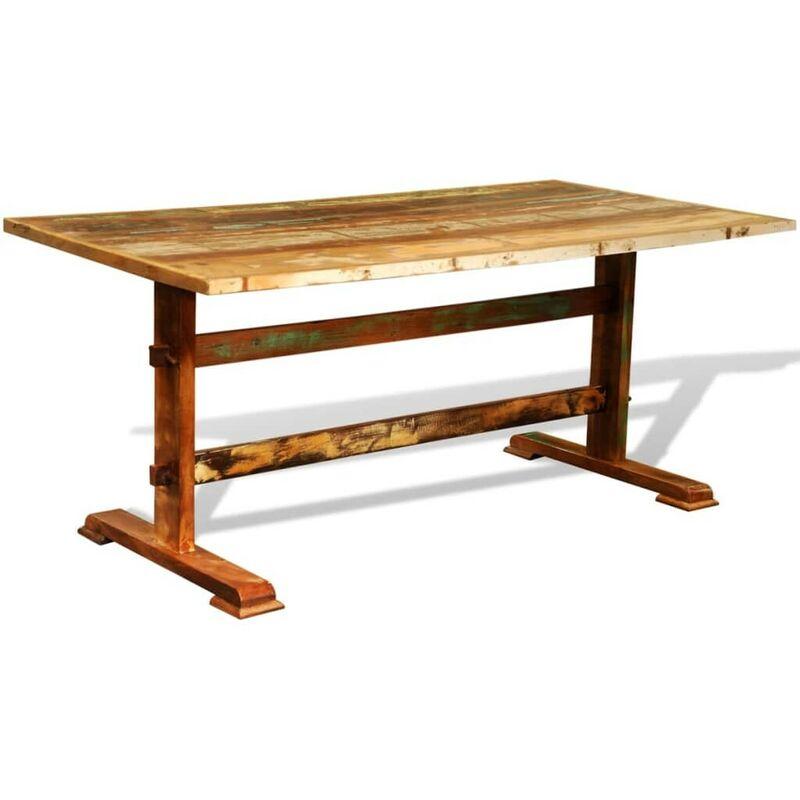 Hommoo Esstisch Vintage Recyceltes Holz VD08534