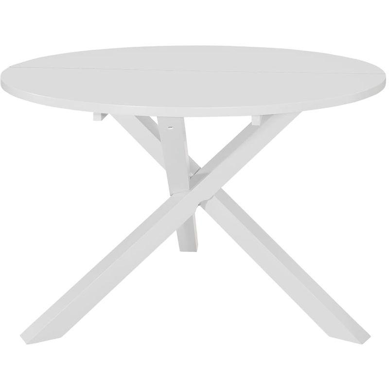 Esstisch Weiß 120x75 cm MDF VD13486 - Hommoo