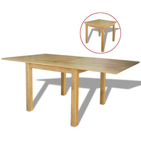 Hommoo Extendable Table Oak 170x85x75 cm