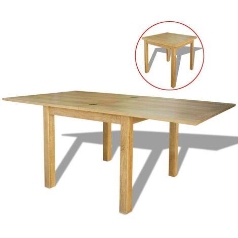 Hommoo Extendable Table Oak 170x85x75 cm VD10524