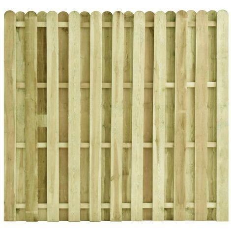 Hommoo Fence Panel Impregnated Pinewood 180x170 cm VD46827