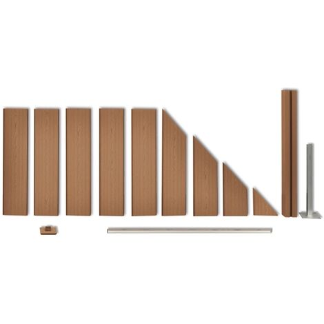 Hommoo Fence Panel WPC 105x QAH26571