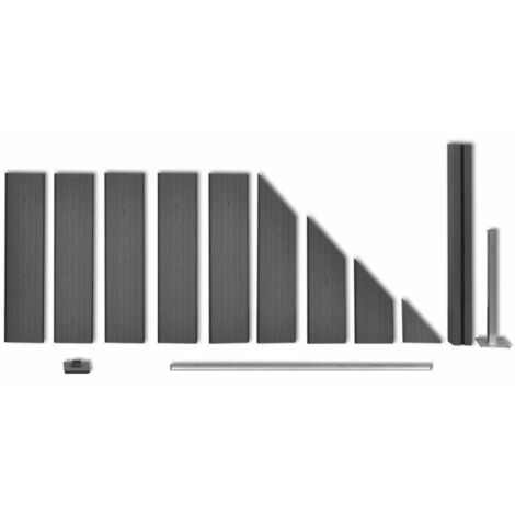 Hommoo Fence Panel WPC 105x QAH26572