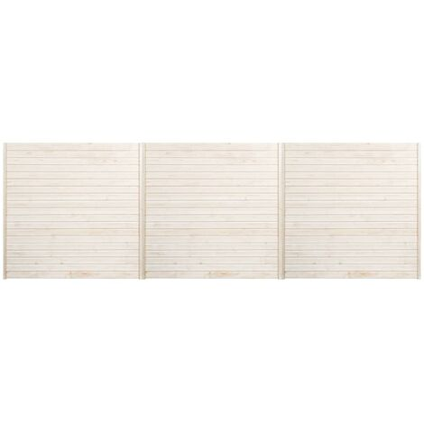 Hommoo Fence Panels 3 pcs 5.1x1.7 m QAH33938