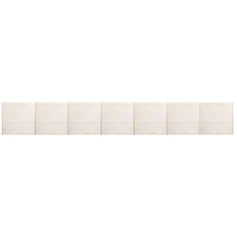 Hommoo Fence Panels 7 pcs 11.9x1.7 m QAH33942