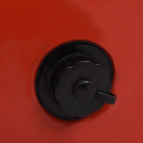 Hommoo Foldable Dog Swimming Pool Red 160x30 cm PVC QAH07336