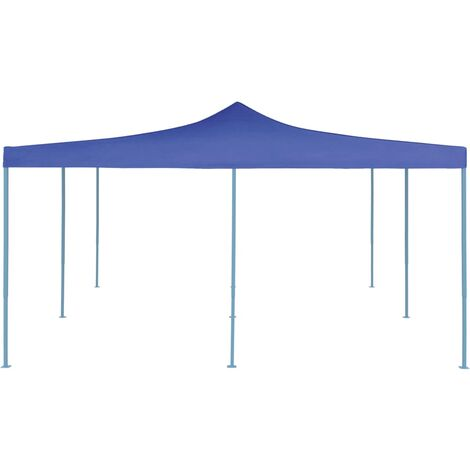 Hommoo Folding Gazebo 5x5 m Blue QAH46762