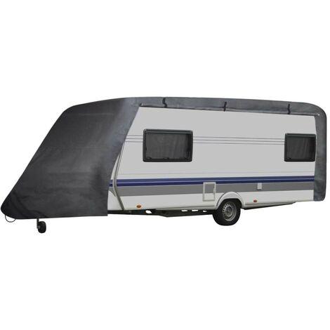 Hommoo Funda para caravana gris S