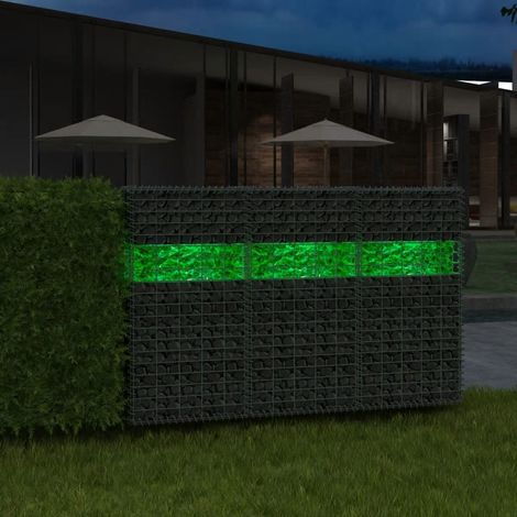 Hommoo Gabion Rocks Glass Green 60-120 mm 25 kg VD04450