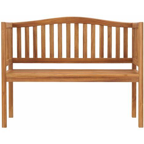 Hommoo Garden Bench 120 cm Solid Teak Wood QAH46998