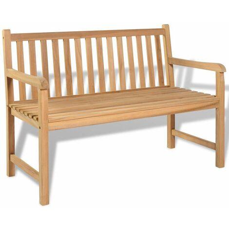 Hommoo Garden Bench 120 cm Teak