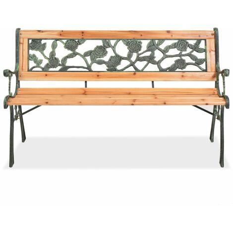 Hommoo Garden Bench 122 cm Wood QAH26137