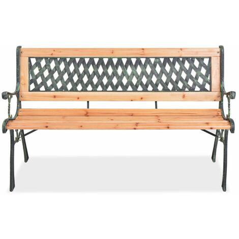 Hommoo Garden Bench 122 cm Wood QAH26138