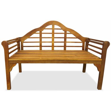 Hommoo Garden Bench 135 cm Solid Acacia Wood QAH27153