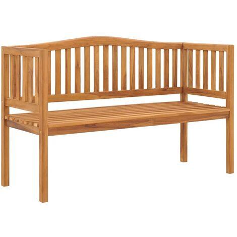 Hommoo Garden Bench 150 cm Solid Teak Wood