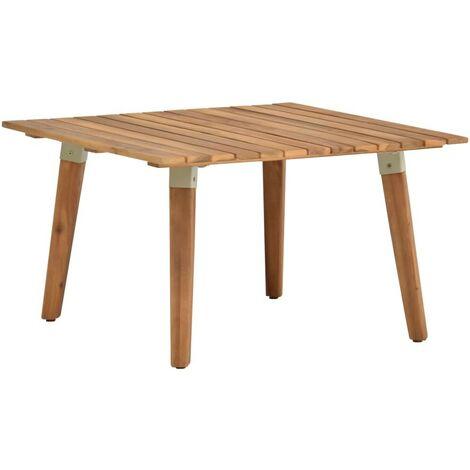 Hommoo Garden Coffee Table 60x60x36 cm Solid Acacia Wood
