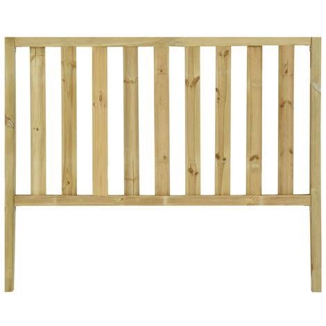 Hommoo Garden Fence with 2 Posts Impregnated Pinewood 170x100 cm VD46947