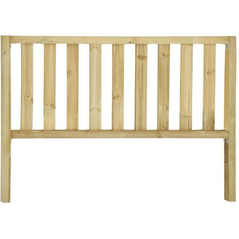 Hommoo Garden Fence with 2 Posts Impregnated Pinewood 170x80 cm VD46946