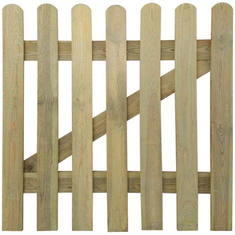Hommoo Garden Gate FSC Wood 100x100 cm