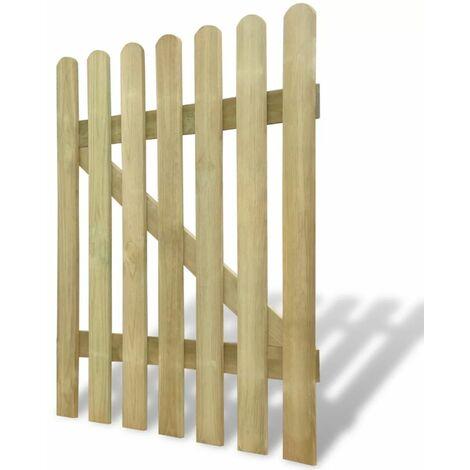 Hommoo Garden Gate Wood 100x120 cm QAH26485