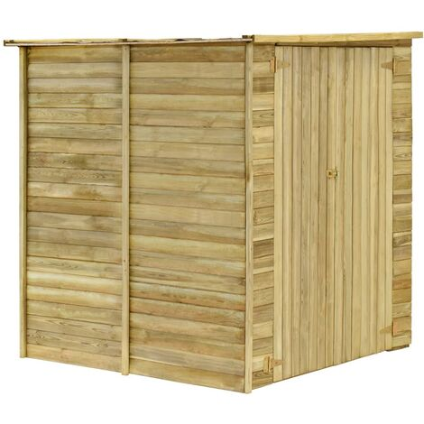 Hommoo Garden House Shed 157x159x178 cm Impregnated Pinewood QAH30000
