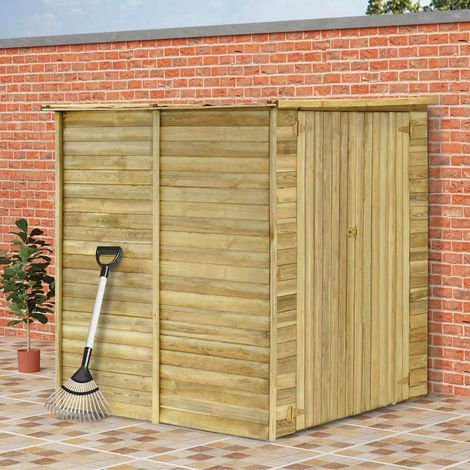 Hommoo Garden House Shed 157x159x178 cm Impregnated Pinewood VD30000