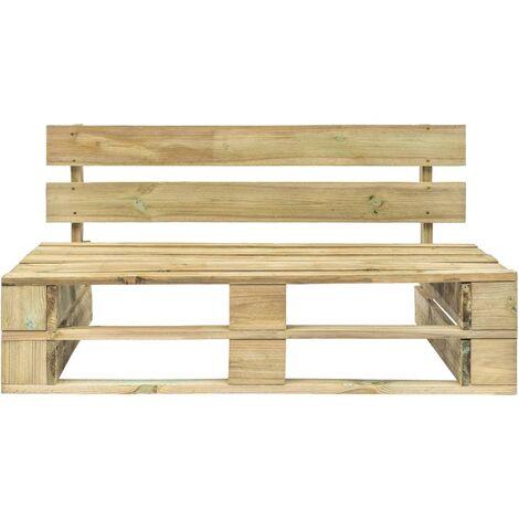 Hommoo Garden Pallet Bench Wood QAH28882