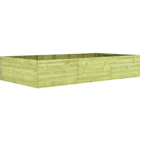 Hommoo Garden Planter 300x150x54 cm Impregnated Pinewood VD46923