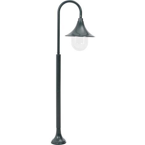 Hommoo Garden Post Light E27 120 cm Aluminium Dark Green QAH28425