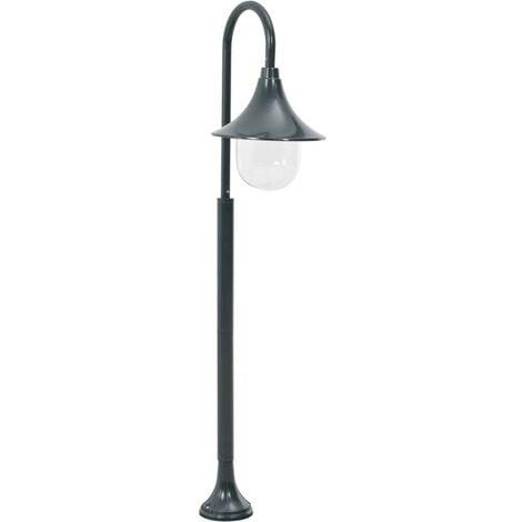 Hommoo Garden Post Light E27 120 cm Aluminium Dark Green VD28425