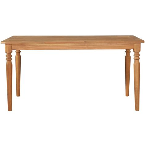 Hommoo Garden Table 150x90x75 cm Solid Acacia Wood QAH28462