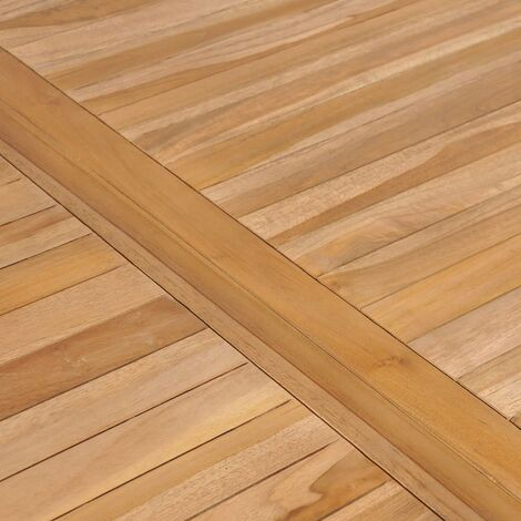Hommoo Garden Table 150x90x77 cm Solid Teak Wood QAH29163