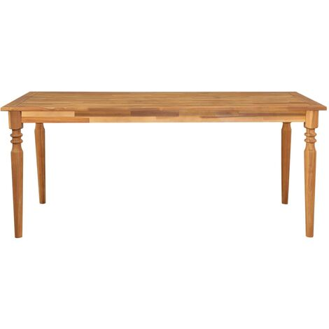 Hommoo Garden Table 170x90x75 cm Solid Acacia Wood QAH29725