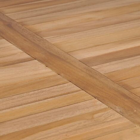 Hommoo Garden Table 80x80x77 cm Solid Teak Wood QAH29162