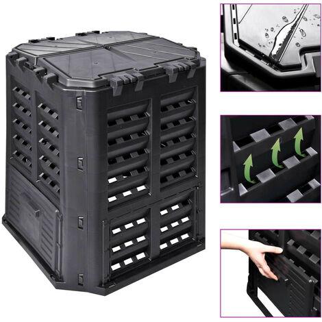 Hommoo Garden Thermo Composter Bin 320 L Plastic