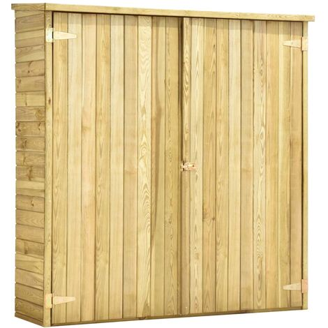 Hommoo Garden Tool Shed 163x50x171 cm Impregnated Pinewood QAH29998