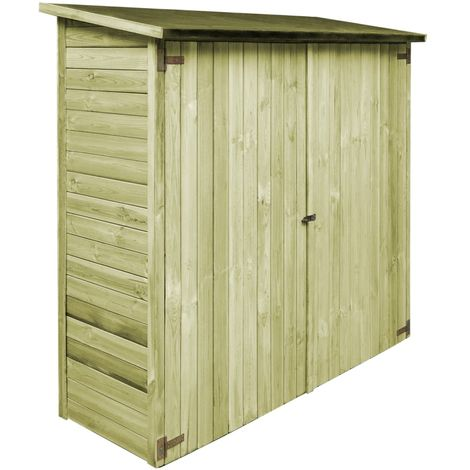 Hommoo Garden Tool Shed FSC Impregnated Pinewood 192x76x175 cm