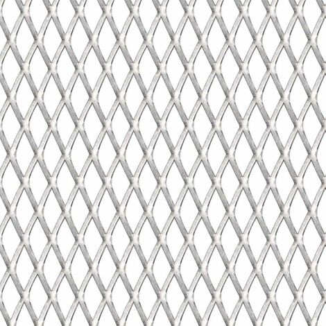 Hommoo Garden Wire Fence Stainless Steel 50x50 cm 20x10x2 mm QAH04415