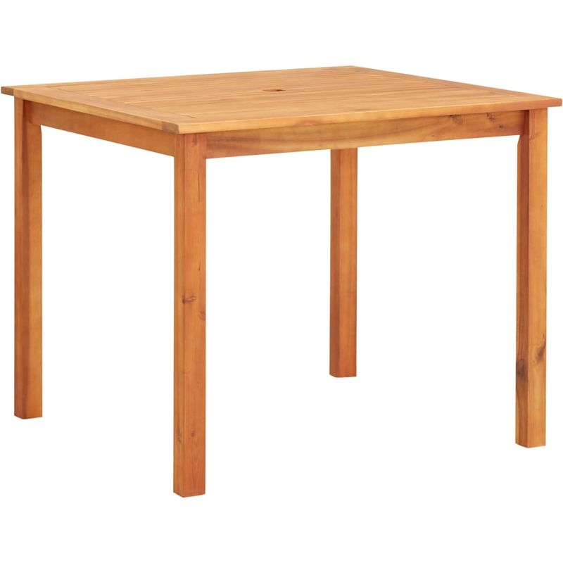 Gartentisch 90x90x74 cm Akazie Massivholz VD29933 - Hommoo