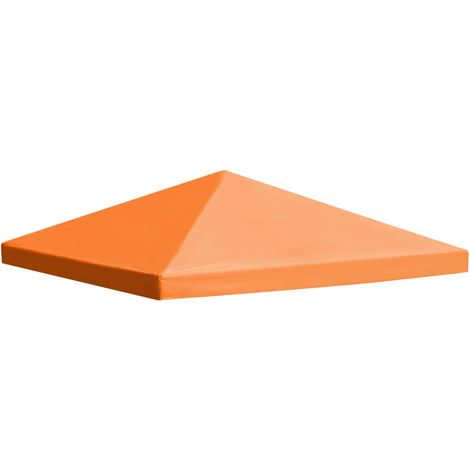 Hommoo Gazebo Top Cover 310 g/m2 3x3 m Orange VD28965